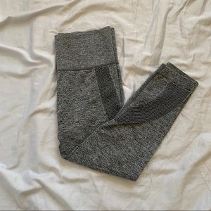 Gray Mesh Active Wear